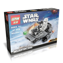 LEPIN 05012 Star Wars Frist Order Snow Runaway Micro Fighters Minifigures Building Block Minifigure Toys Compatible Lego - little love dream Store store