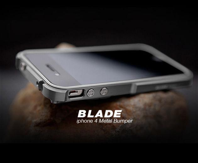 TX Blade i4 capa fundas Aluminum Bumper frame For iPhone4 iPhone 4S metal Bumper + screwdriver + 2 Film +1 Box(China (Mainland))