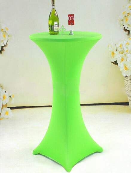 Free Shipping Pcs Le Green Elastic Highboy Bar Table Cloths Lycra Spandex Tail Covers With Tables For