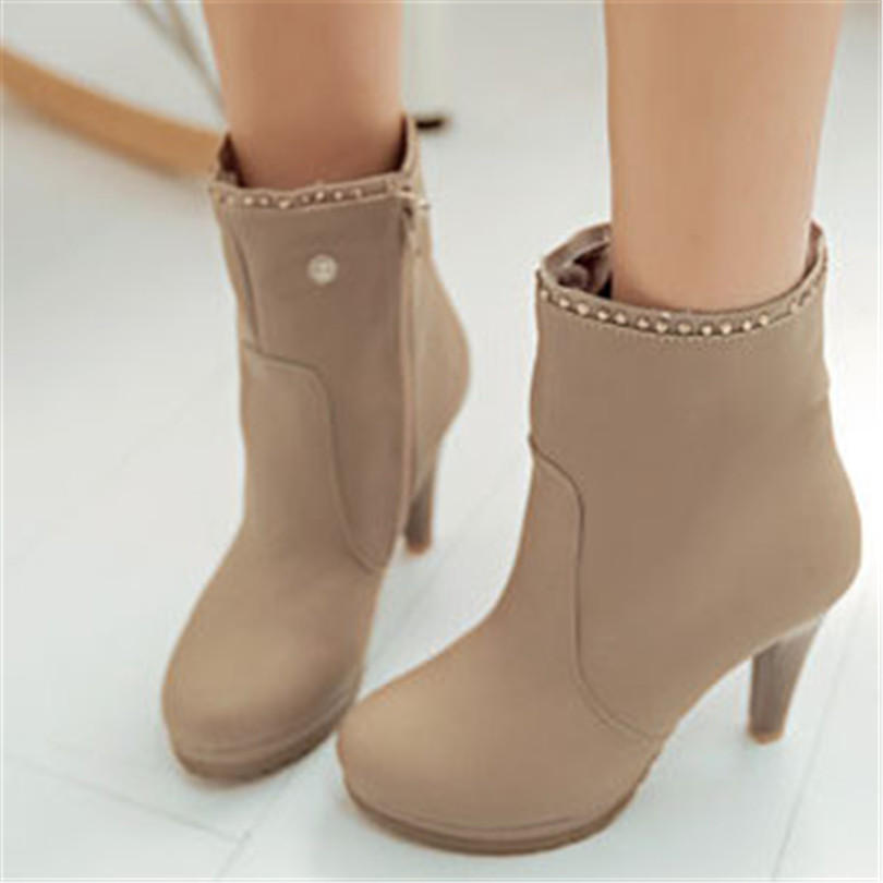 ENAYER 2014 NEW arrivals winter boots for women Multifunction boots sexy thin high heels boots over the knee/ankle boots <br><br>Aliexpress