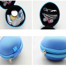 2016 Mini Zipper Earphone Headphone SD Card Storage Bag Box Carrying Pouch BU fe26(China (Mainland))