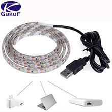 Buy USB LED Strip Light IP20 IP65 5V SMD3528/2835 Strip Light Warm/Cold White 0.5m 1m 2m Flexible Strip TV Background Lighting Strip for $2.07 in AliExpress store