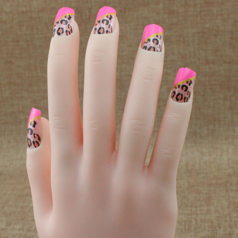 Attractive enchanting translucent false nails False Nail T078(China (Mainland))