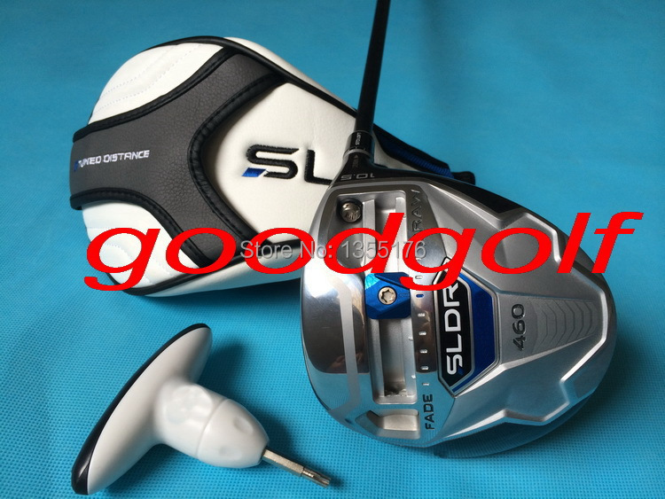 Hot new golf clubs SLDR 460 Golf Driver FADE DRAW with 9.5 or 10.5 degree and R/S Graphite  shaft high quality headcover<br><br>Aliexpress