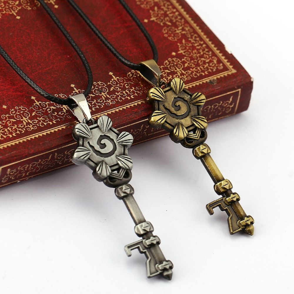 Hearth Stone chain Necklace Heroesof Warcraft Jewelry Choker Necklace Pendant Accessories alloy Necklace jewelry(China (Mainland))
