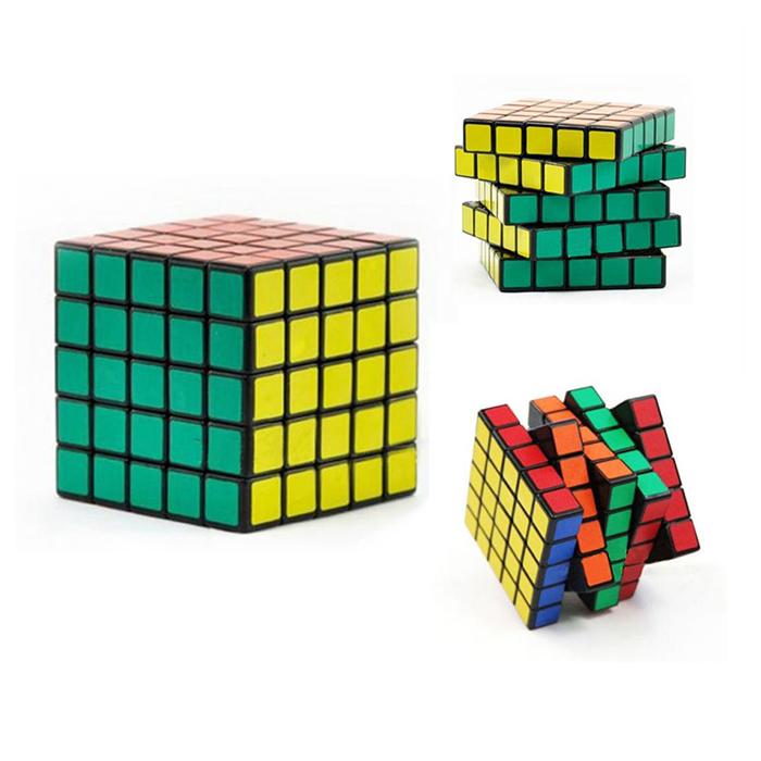 5x5x5 Five Layer Speed Magic Cube Puzzle Cubo Magico IQ Educational Toys(China (Mainland))