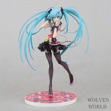 Anime Figure 21 CM Hatsune Miku Tell your world Ver. 1/8 Scale PVC Action Figure Collectible Toy Model Christmas Gift