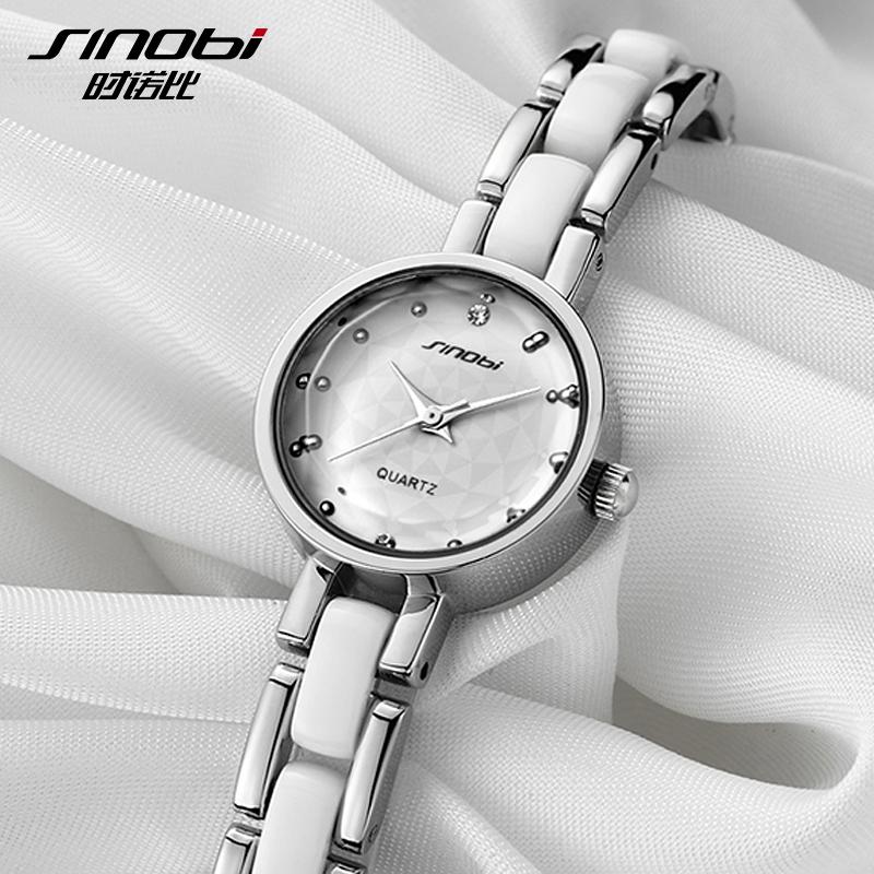 Sinobi new Fashion watches luxury brand leather strap quartz watch Women s Fashion watches women watches