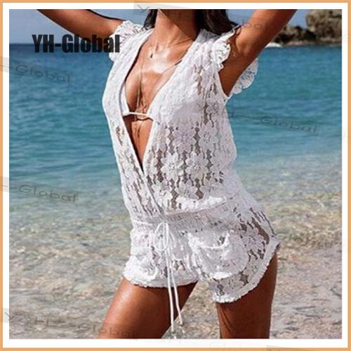 Женская туника для пляжа Y&H Ups Banho Roupa D4042