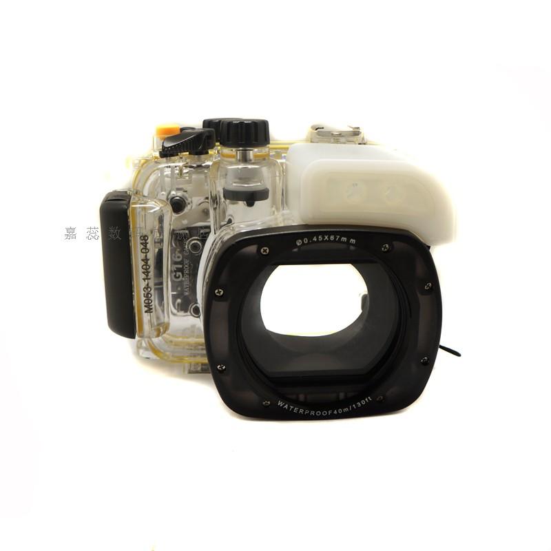 Underwater housing camera housing case for canon canon powershot g16
