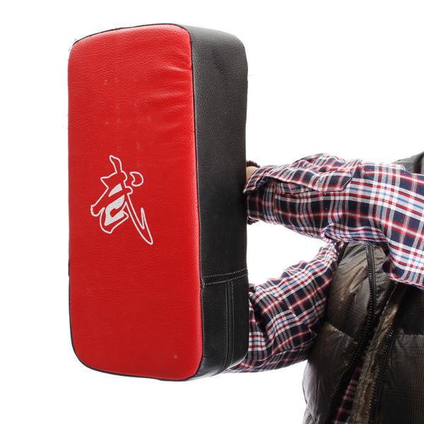 Гаджет  Top Selling Thai Kick Boxing Martial Art Karate Strike Pad Punch Bag Shield Training Red And Black Free Shipping None Спорт и развлечения