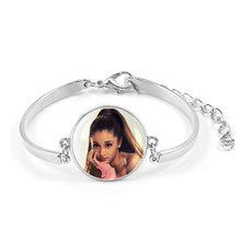 Ariana Grande Không Nước Mắt Trái Khóc Vòng Tay Bài HátThiên Chúa Là một Người Phụ Nữ Album Thoát Biểu Tượng Huy Hiệu Braslet Cho Bé Gái Đeo Cổ Tay(China)