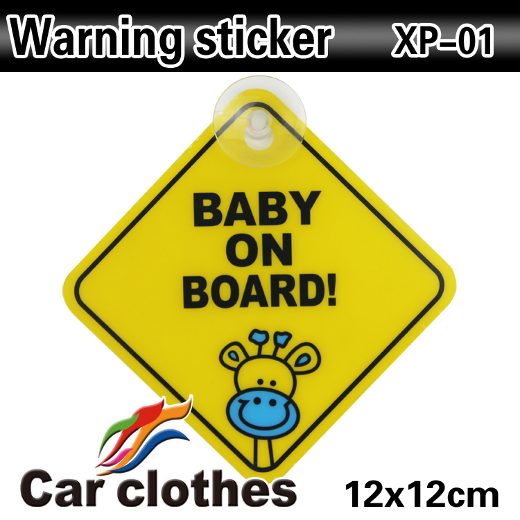 New  Car Warning Sticker Baby on Board Sticker Children on Road Baby In Car Sticker Motorcycle Car Truck Body Decoration<br><br>Aliexpress