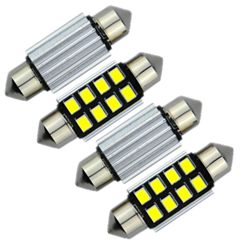4pcs Canbus 42mm 41mm LED 2835SMD Interior Dome Map Light Cargo Car Bulb For Dodge Ram 3500 2000 2001-2006 2007 2008 2009 2010(China (Mainland))
