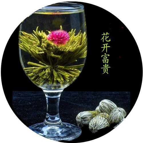 Different Types of Handmade Atistic Blooming Flower Tea Ball Jasmine Fairy Scented for Health Care Products