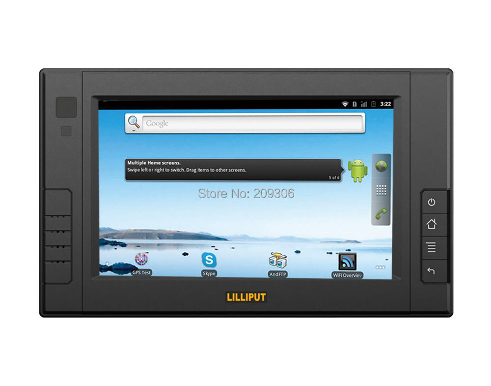 LILLIPUT PC-7105 7 inch Embedded All In One PC with OS WinCE 7.0 Linux 2.3/2.6 comply with IP64 Mobile Data Terminal PC(China (Mainland))