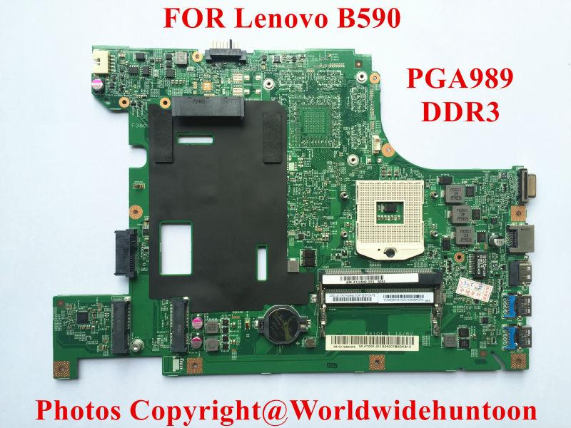 Brand New Original laptop motherboard for Lenovo B590 55.4YA01.001 PGA989 DDR3 Fully tested(China (Mainland))