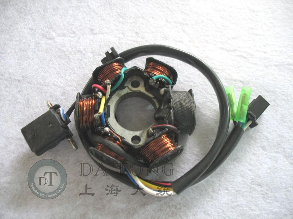 6 Coil Stator Magneto Alternator Stator For Chinesse font b GY6 b font 150cc 157QMI QJ