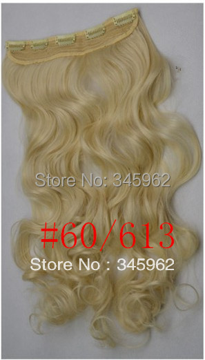 clip hair extensions synthetic 20 - 28 inch long extension 1pc fashion charming sexy products wigs store