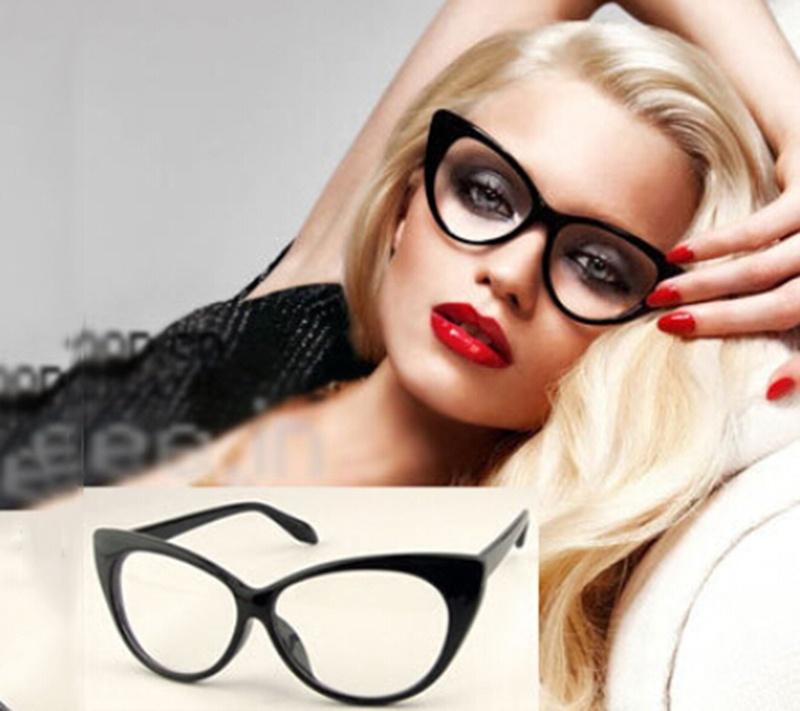 2018 New Modern Elecat Eyes Shape Glasses Frame For Ladies Acetate ...