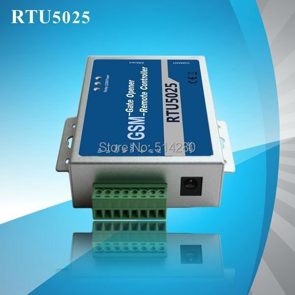 Автоматический открыватель двери BRAND NEW RTU5025 GSM 999 SMS 1Output/2  2017 new arrival free shipping 8 ch modbus rtu rs485 network expansion board rs485 modbus rtu mode