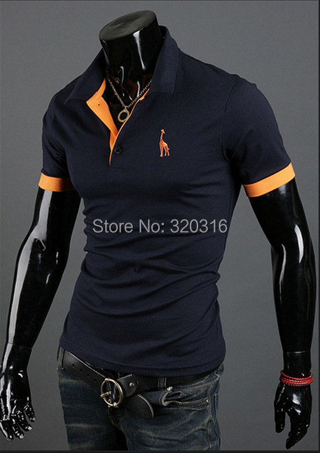 KC 2015 autumn New Men Slim short-sleeved shirt Differnt Color M L XL XXL size turndown MTX01A01(China (Mainland))