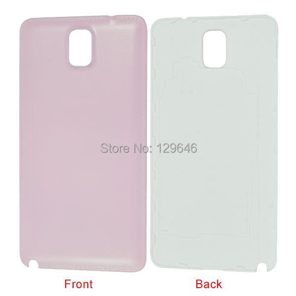 Pink Battery Back Cover Replacement Part for Samsung Galaxy Note 3 N900A,OEM()