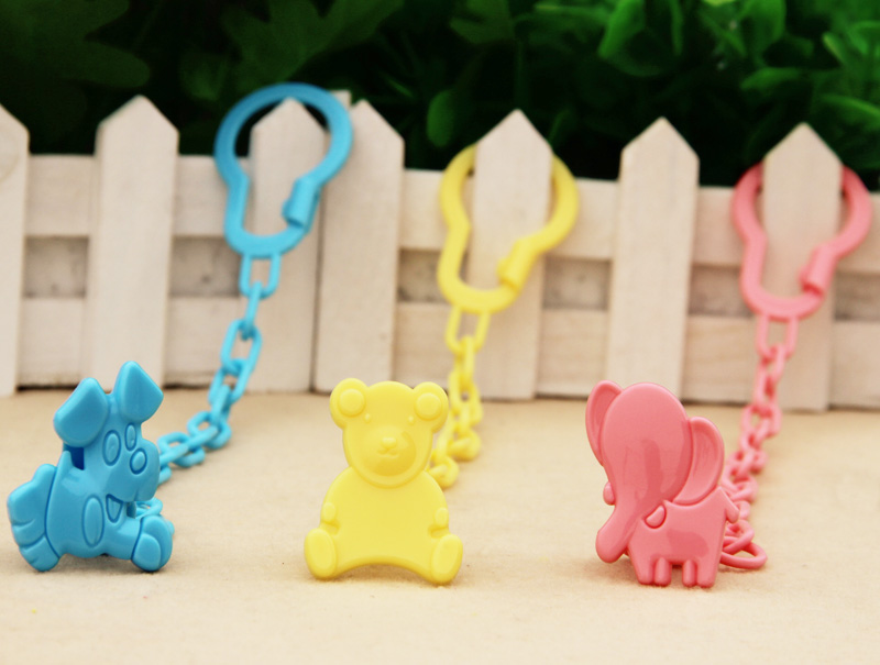 Baby care Pacifier Clips Funny Nipple Teethers pacifier AccessoriesToy Pacifier Holder Chain Drop-resistant Belt1pcs