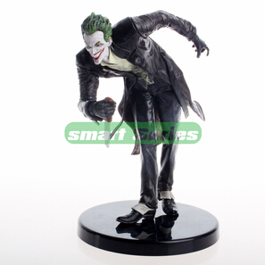 Marvel Super Heroes Batman clown The city of akronham DC comics The Joker furnishing articles PVC Figure Toys Gifts for children(China (Mainland))