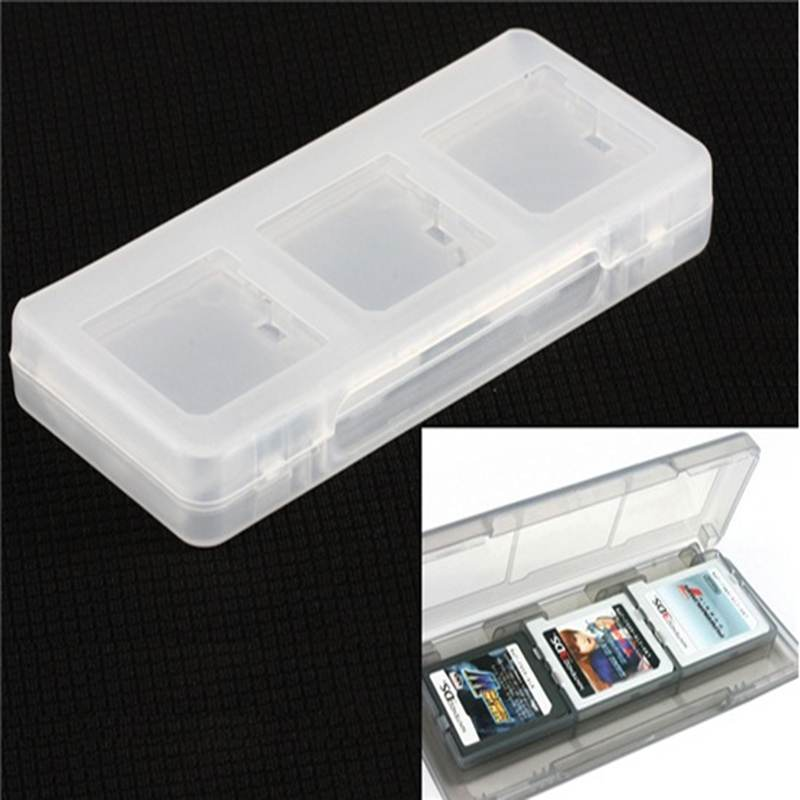 6 in 1 Game Cases For Nintendo 3DS Protective Hard Plastic Card Box Storage Holder Video Games Accessories for NDSI NDSL New(China (Mainland))