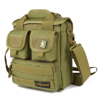 Free Soldier Army fans outdoor tactical military camouflage bag shoulder casual men Messenger mud