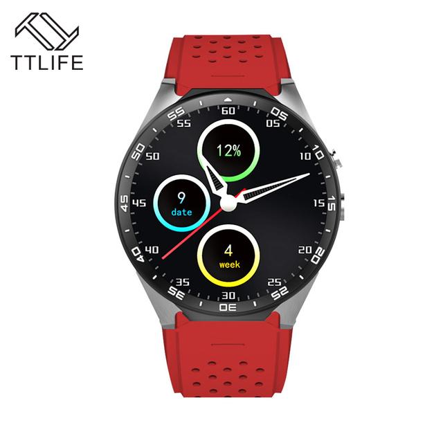 TTLIFE Марка 1.39 Дюймов Экран 2.0MP Камеры Smartwatch 3 Г WI-FI GPS Smart Watch Android 5.1 OS MTK6580 ПРОЦЕССОР Для Apple Xiaomi Huawei