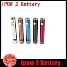 Genuine Kanger Ipow2 1600mAh E Cigarette Battery Variable Voltage Wattage Fit For KangerTech Sub Tank RBA Atomizer(2pc YY)