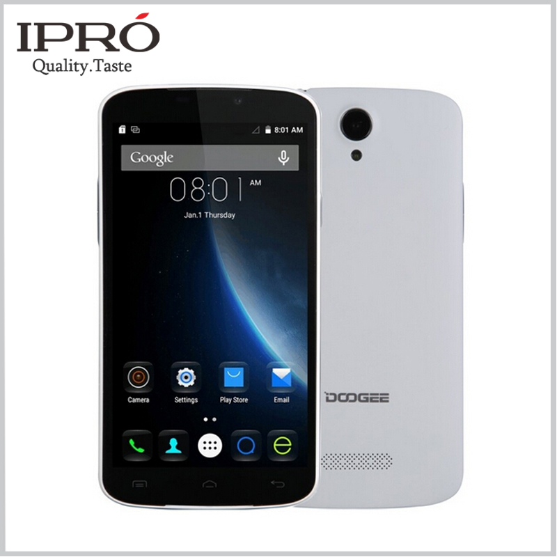 Original Doogee X6 Smartphone MTK6580 Quad Core 5.5 Inch Celular Android 5.1 Mobile Phone 1280*720 1G RAM 8G ROM Cell Phones(China (Mainland))