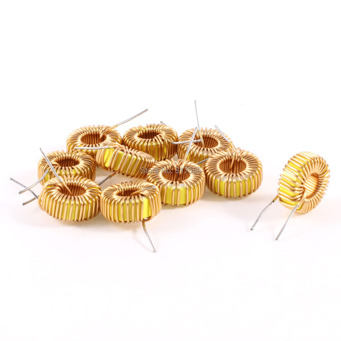 10 Pcs/lot Toroid Core Inductor Wire Wind Wound 47uH 38mOhm 3A Coil Discount 50(China (Mainland))