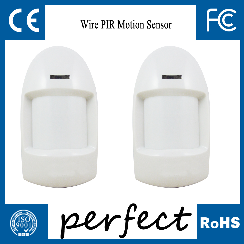 Detector Wired PIR Sensor Wired Wide angle PIR Detector Passive Infrared Motion free shipping