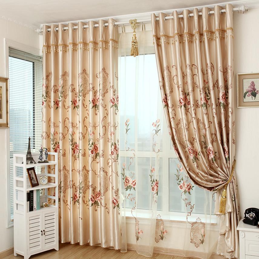 Achetez en gros classique style rideau en ligne des - Tende per soggiorno classico ...
