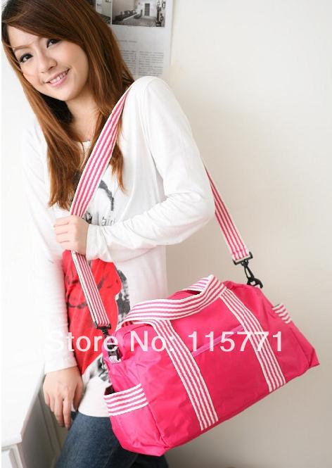 2014 New Folding waterproof one shoulder cross body handbag travel luggage bags fitness sports bag online - C Y fashion mall store