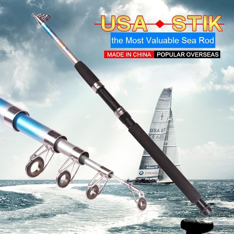 99% Carbon 2.1 M-3.6 M Portable Telescopic Fishing Rod Spinning Fish Hand Fishing Tackle Sea Rod(China (Mainland))