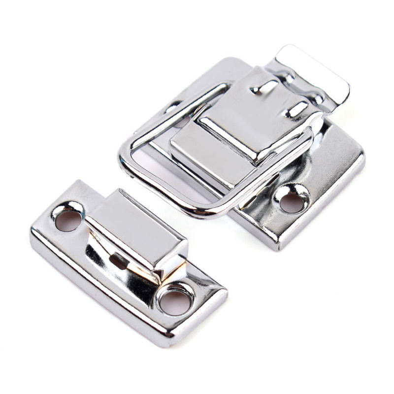 High Quality Stainless Steel Chrome Toggle Latch For Chest Box Case Suitcase Tool Clasp 1 pair