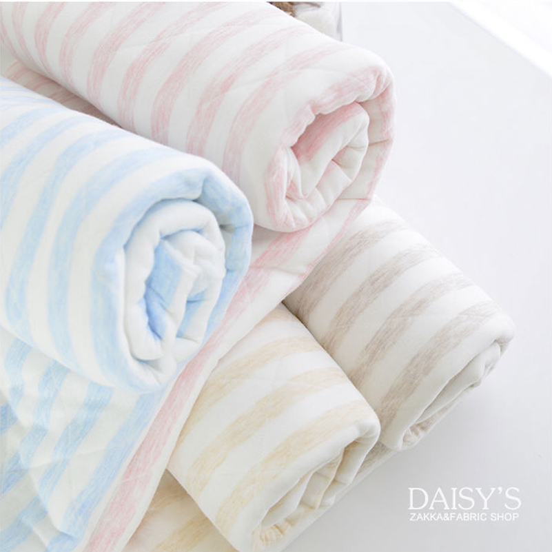 200x 50cm Knitting Cloth Keep Warm Underwear Lining Coated Bedding Cloth Cotton Clip Air Gas Blanket Primary Stripe, warm 640g/m(China (Mainland))