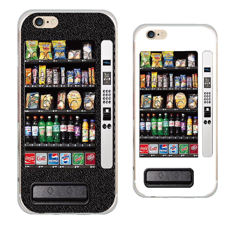 Vintage Style Snack Vending Machine Ultra Thin Soft Phone Case Back Cover For Apple iPhone 6