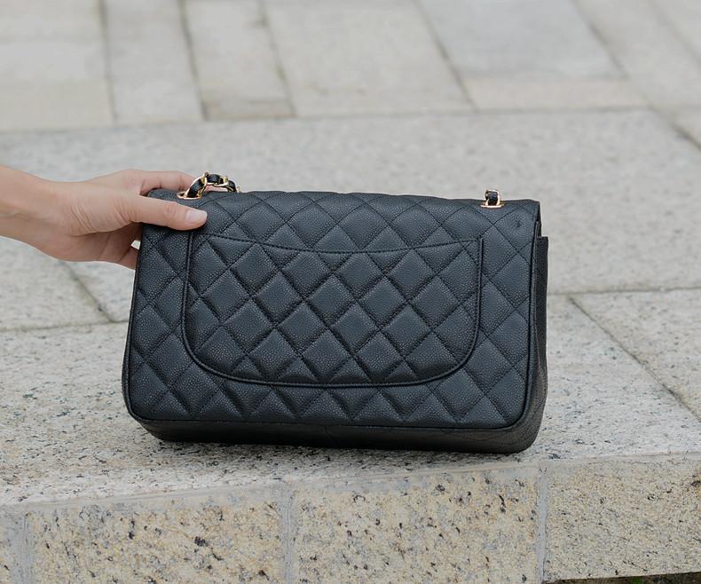 58600 Jumbo caviar 30cm  shoulder bag for FREE SHIPPING<br><br>Aliexpress