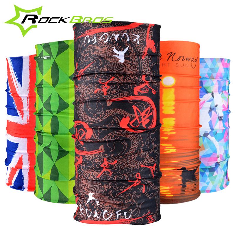 ROCKBROS Summer Outdoor Sports Scarf Anti-Sweat Bicycle Bandanas Headwear Seamless Ride Mask Bike Magic Scarf Cycling Headband(China (Mainland))