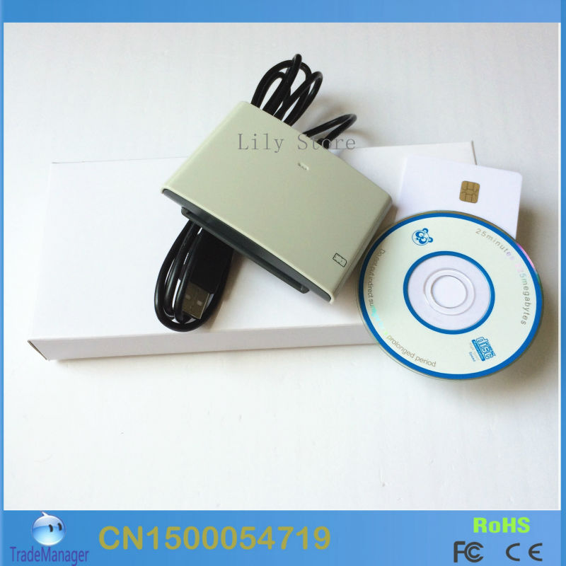 Contact Smart SIM/Mico IC Chip Card Reader Writer USB ACS ACR38U-SPC-R4 Support Read SIM Card. - Lily Lai's Store store
