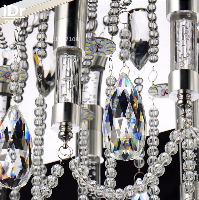 Купить Современное Прямоугольное СВЕТОДИОДНЫЕ фонари производителей оптовая современные хрустальные лампы ресторан люстра Роскошные лампы