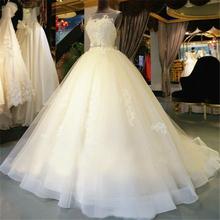 Custom Made Empire Organza Lace Beading 2017 Designer Plus Size Wedding Dress Luxury Wedding Gown Free Shipping MB116(China (Mainland))