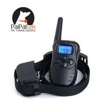 Аккумуляторная 100LV 300 м дистанционного вибрации статический Pet ошейник без коры ошейник анти-кора остановка за 1 собака