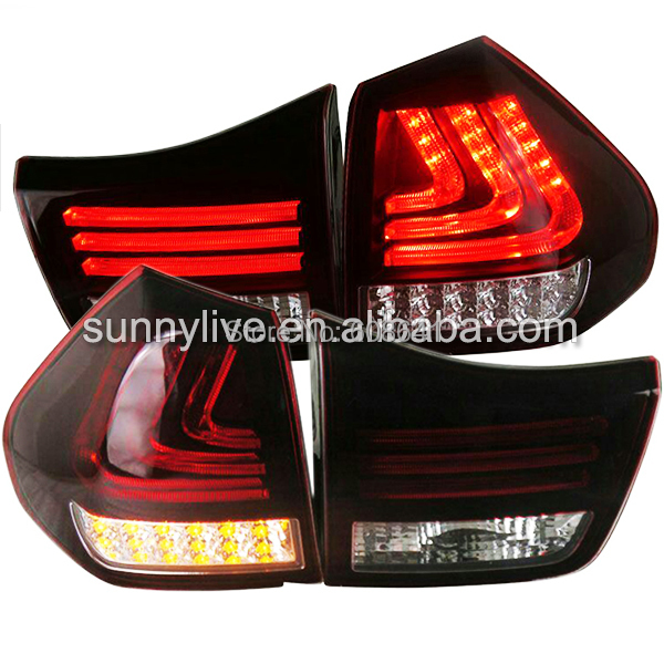 Herrier Kluger Lexus RX300 RX330 RX350 LED Tail Lamp 04-09 Year Dark Red Color SN(China (Mainland))