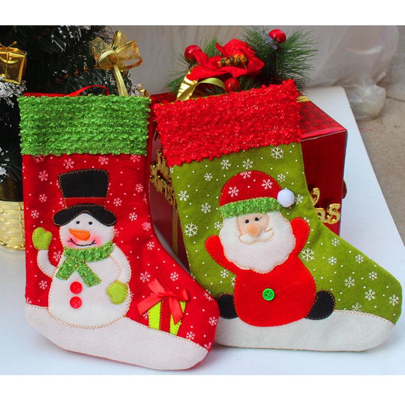 2015 New Fashion Trumpet Christmas Snow Cartoon Warm Socks Lovely Snowflake Santa Claus Cute Meias Cotton Calcetines S981(China (Mainland))